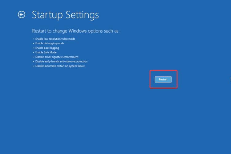 windows 11 modalita provvisoria 5