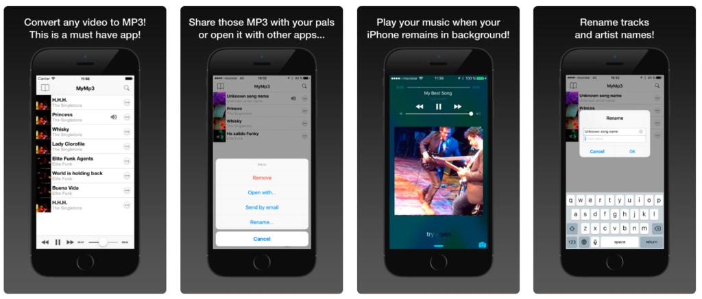 Come scaricare musica da YouTube MyMp3 iOS iPhone iPad iPadOS