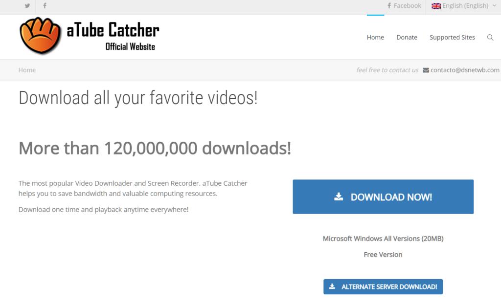 Come scaricare musica da YouTube Atube Catcher