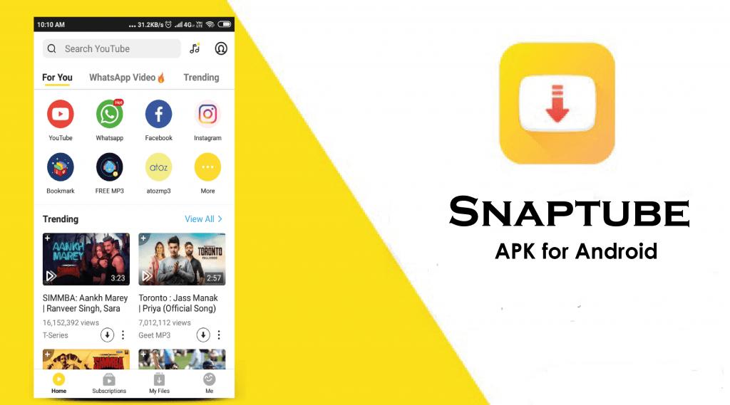 Come scaricare musica da YouTube SnapTube Android