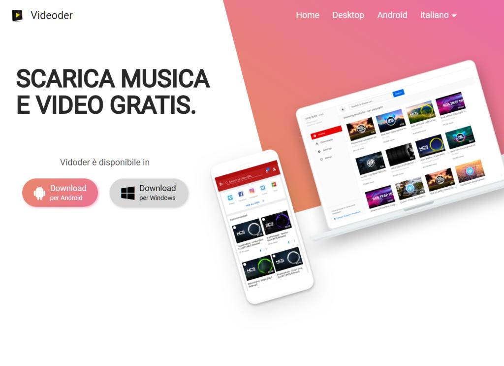 Come scaricare musica da YouTube Videoder Android